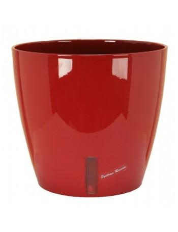 Pot EVA rond diametre 36cm rouge- RIVIERA