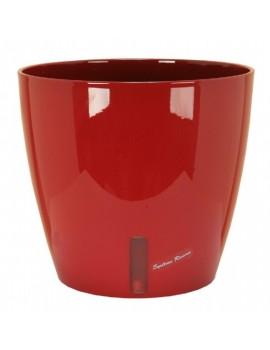 Pot EVA rond diametre 46cm rouge- RIVIERA