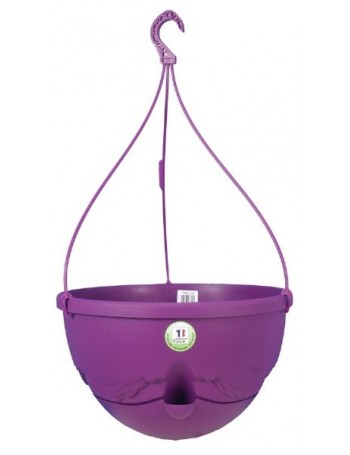 Suspension ANTHEA diametre 36cm H27cm prune - RIVIERA