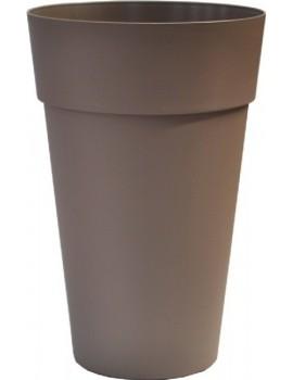 Colonne ronde JAIME diametre 40cm H63cm CHAPELU-Taupe
