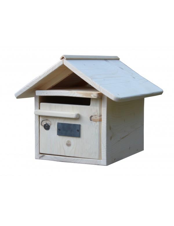 Porte De Boite Aux Lettres : Boite aux lettres bois creastuce maillat porte