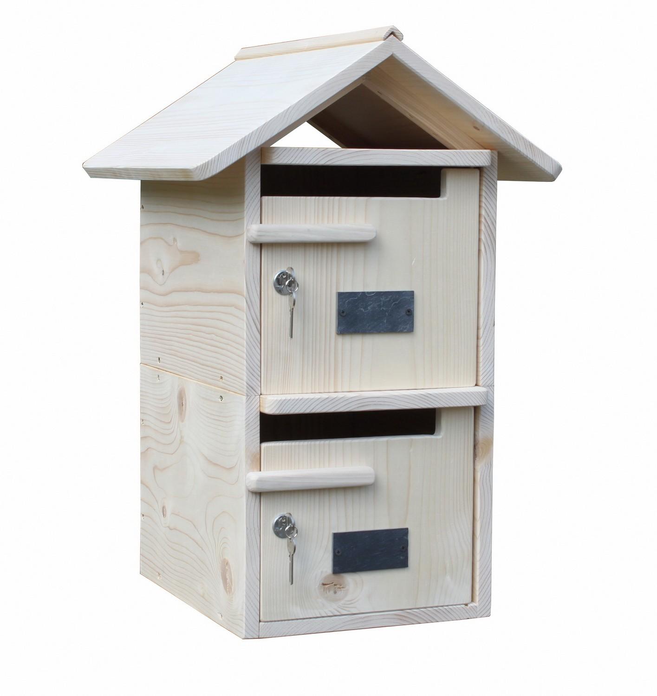 boite aux lettres bois. Black Bedroom Furniture Sets. Home Design Ideas