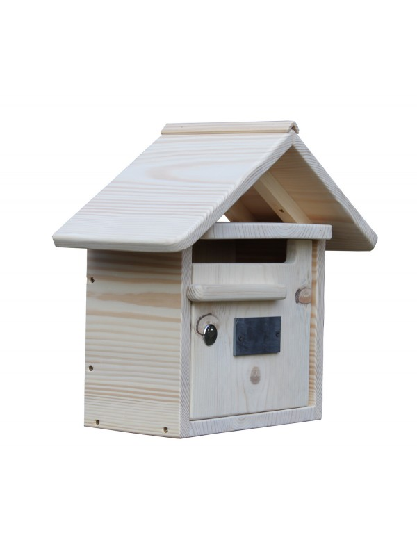 boite aux lettres bois creastuce maillat courte 1 porte ebay. Black Bedroom Furniture Sets. Home Design Ideas