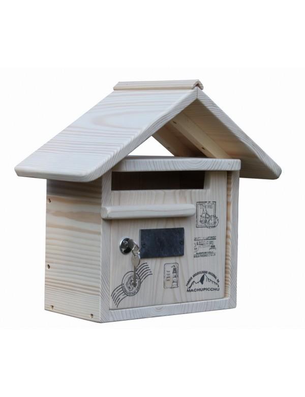 boite aux lettres bois creastuce routard courte. Black Bedroom Furniture Sets. Home Design Ideas