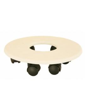 Soucoupe à roulettes encastrable diametre 22.5 cm - RIVIERA