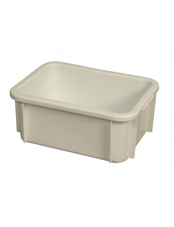 BAC RECTANGULAIRE EMPILABLE 12 Litres BLANC - GILAC