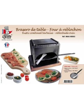 Combine Brasero de table-Reblochade rustique - BRON-COUCKE