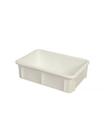 BAC RECTANGULAIRE EMPILABLE 25 Litres BLANC - GILAC