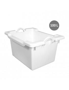 BAC COMPORTE 100 Litres BLANC - GILAC