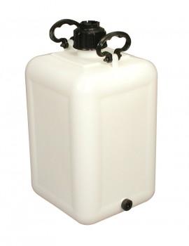BONBONNE 35 litres avec BOUCHON DE VIDANGE - GILAC