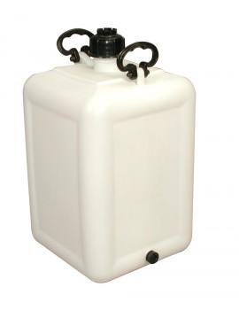 BONBONNE 60 litres avec BOUCHON DE VIDANGE - GILAC