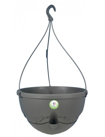 Suspension ANTHEA diametre 36cm H27cm gris - RIVIERA