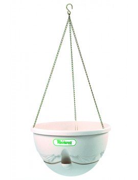 Suspension ANTHEA diametre 36cm H27cm beige - RIVIERA