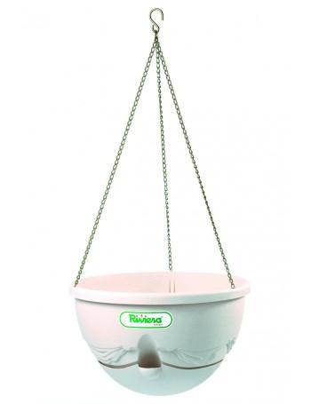 Suspension ANTHEA diametre 36cm H27cm beige - RIVIERA