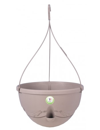 Suspension ANTHEA diametre 36cm H27cm Taupe - RIVIERA