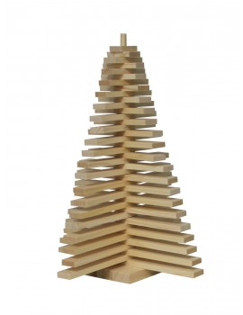 Sapin en bois 40 cm - MONNET SEVE