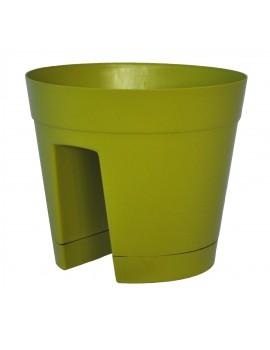Pot REGINA Rond 30cm - CHAPELU-Vert Olive
