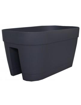 Pot ORLANDO Oval - CHAPELU-Anthracite