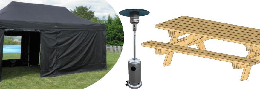 Mobilier de Jardin - achat / vente bancs bois, tonnelle & parasol ...