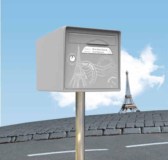 boite aux lettres Paris est belle