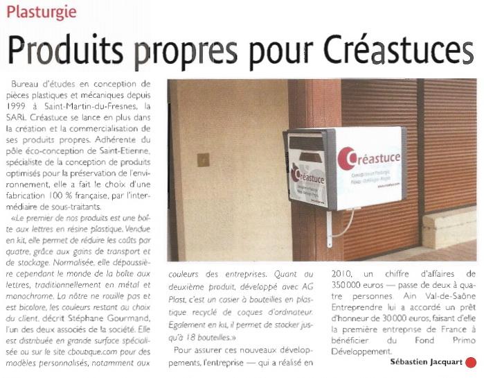 Le courrier économie du 14 juillet 2011