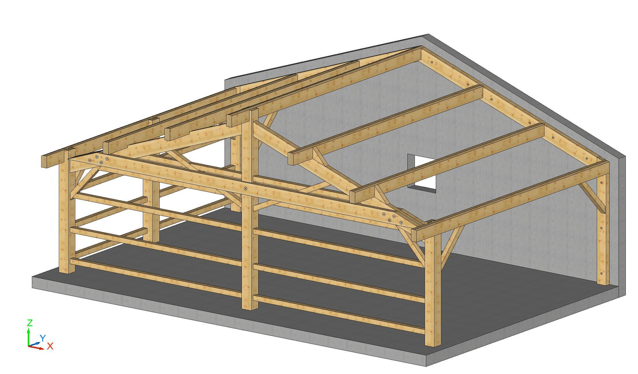 plan 3D kit-abris