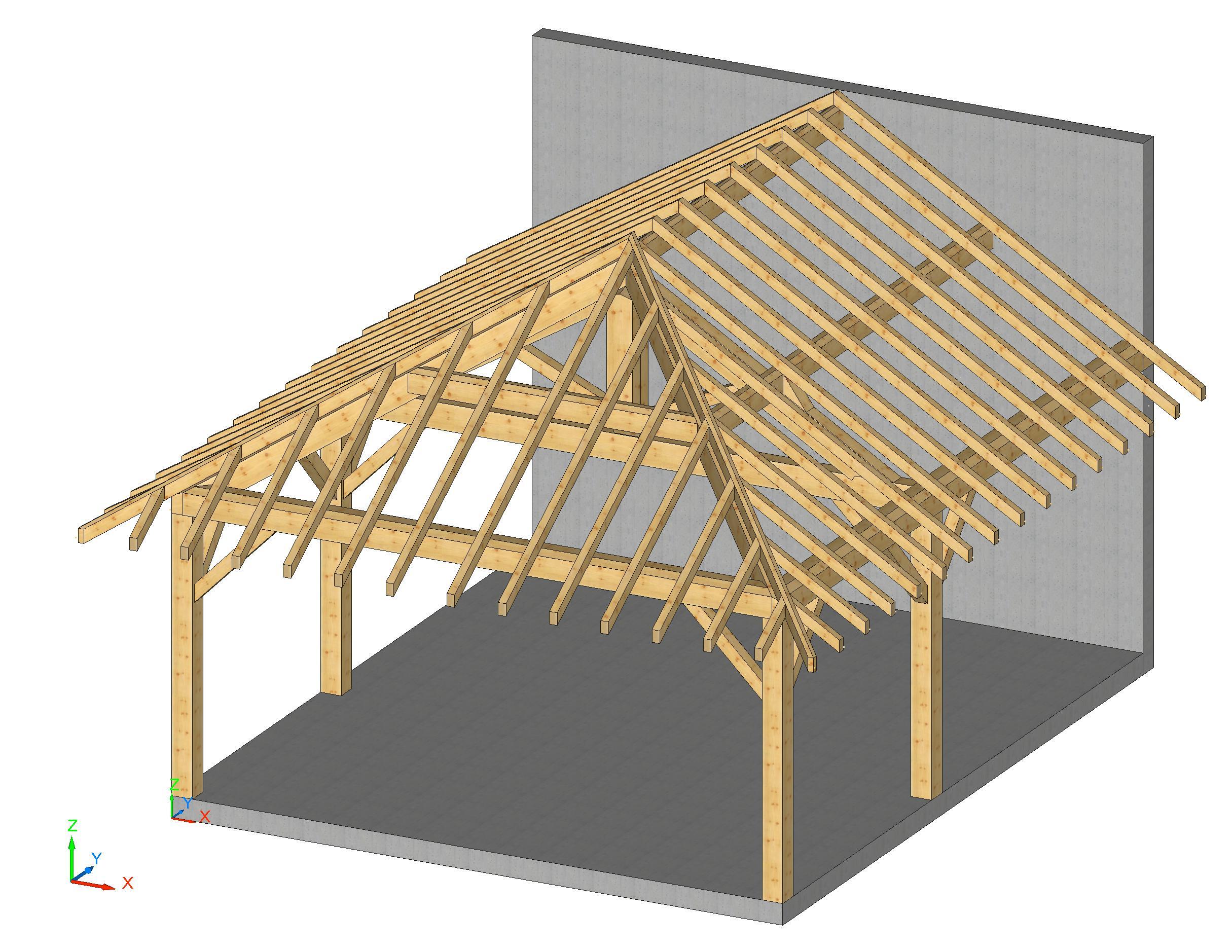 plan 3D kit abris